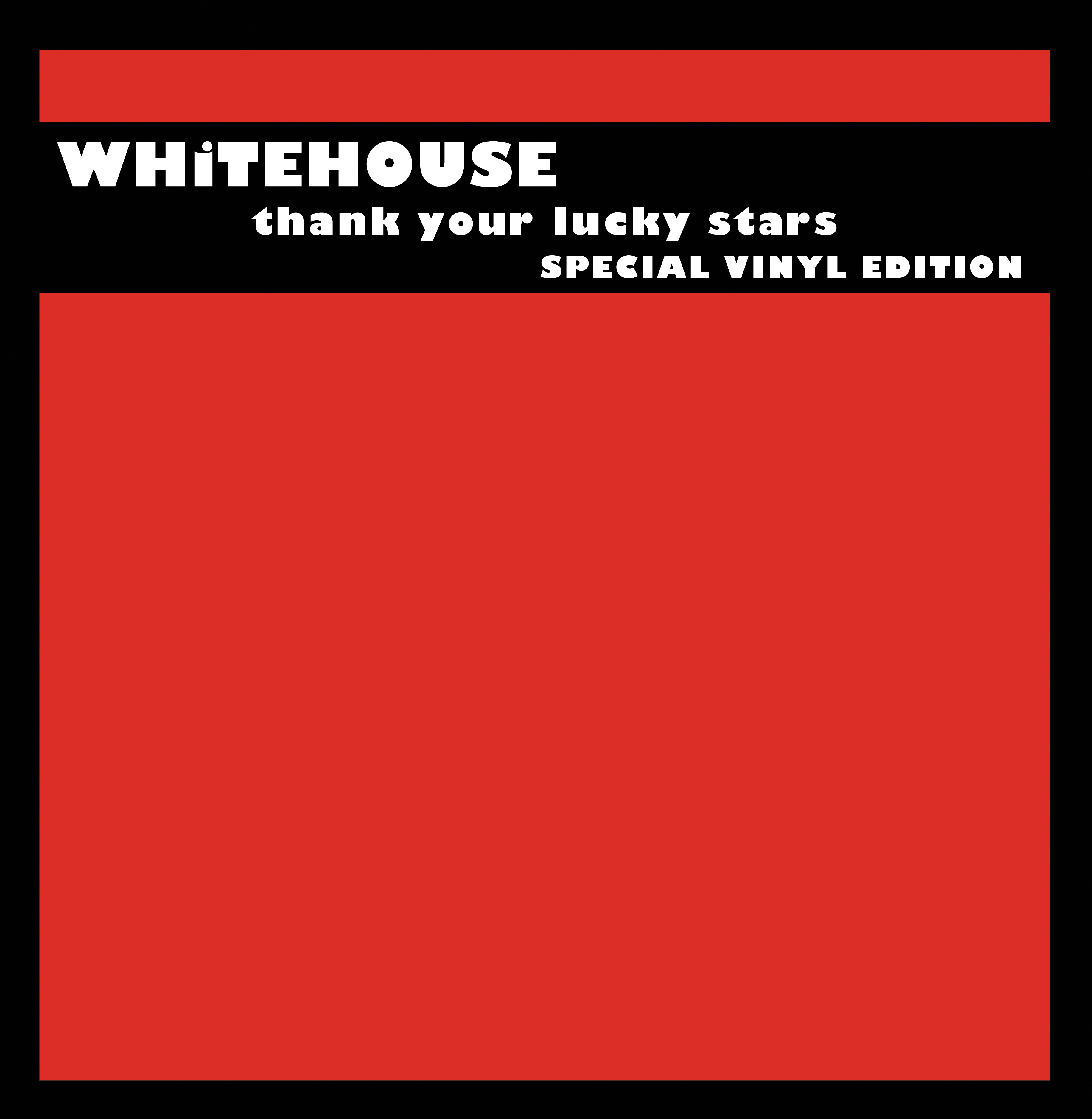 THANK YOUR LUCKY STARS SPECIAL VINYL EDITION