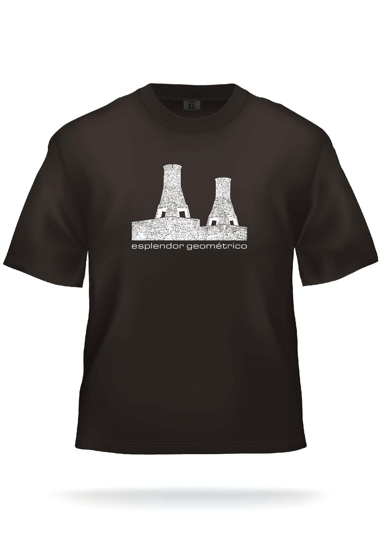 Black T-Shirt: old towers logo